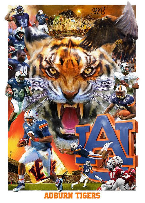 War Eagle Greeting Cards