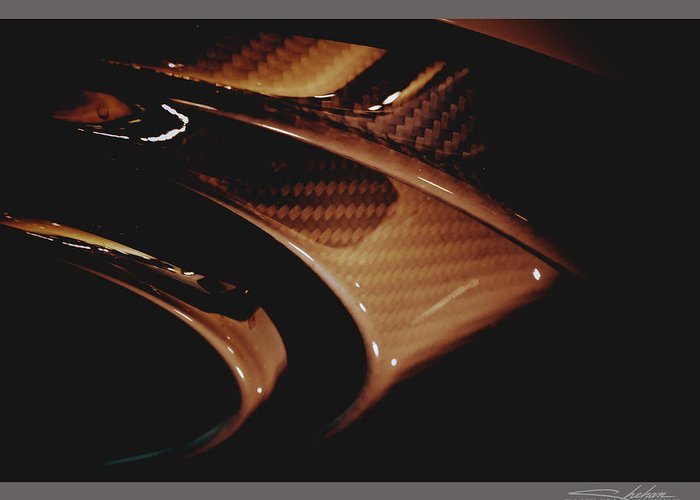 2014 Greeting Card featuring the photograph Audi 2014 Rs7 Carbon Fibre Exhaust by Shehan Wicks