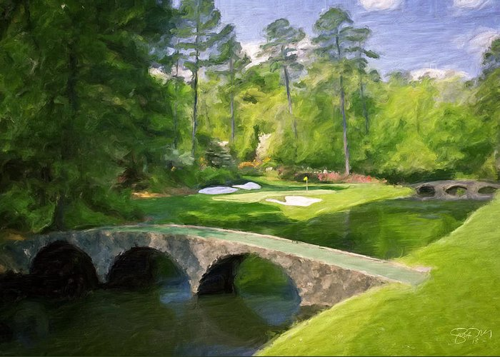 Augusta National Golf Greeting Cards