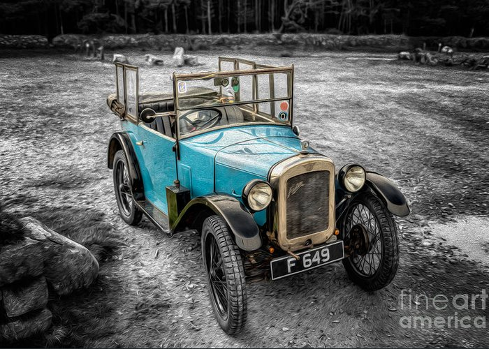 Austin Greeting Card featuring the photograph Austin 7 by Adrian Evans