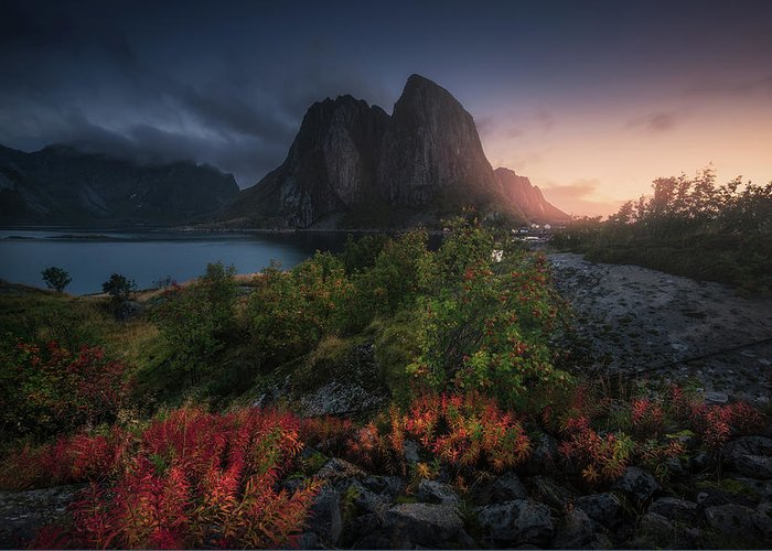 Norway Greeting Card featuring the photograph Autumn Is Coming by Carlos F. Turienzo