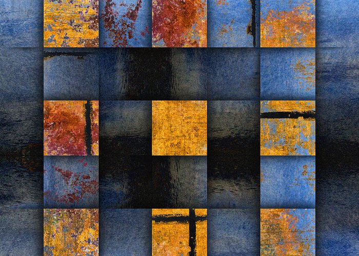 Abstract Geometric Photographs Greeting Cards