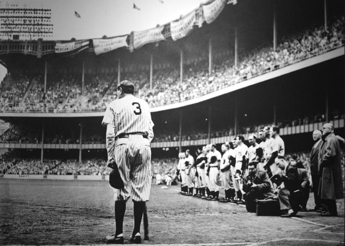 Babe Ruth Greeting Cards