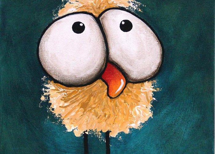 Fluffy Chicken Greeting Cards