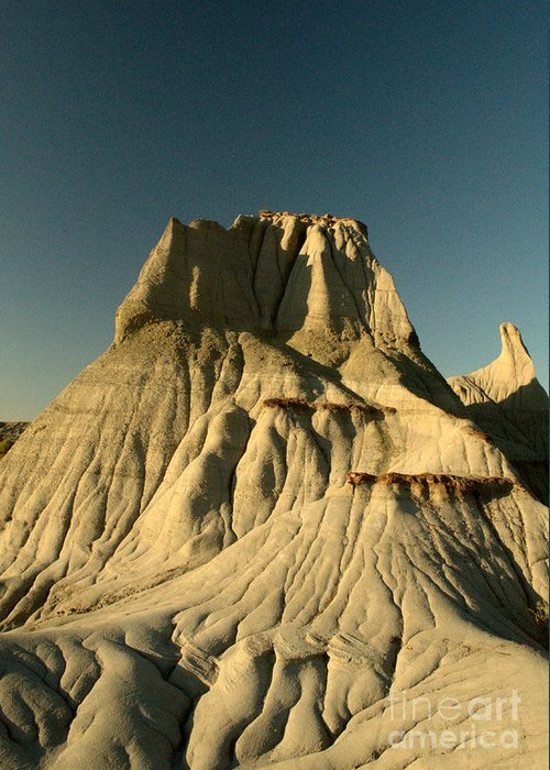 Hoodoo Greeting Card featuring the photograph Badlands Hoodoo by Matthew Naiden
