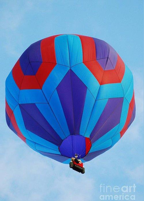 Balloon Greeting Card featuring the photograph Ballooning by Joe Cashin