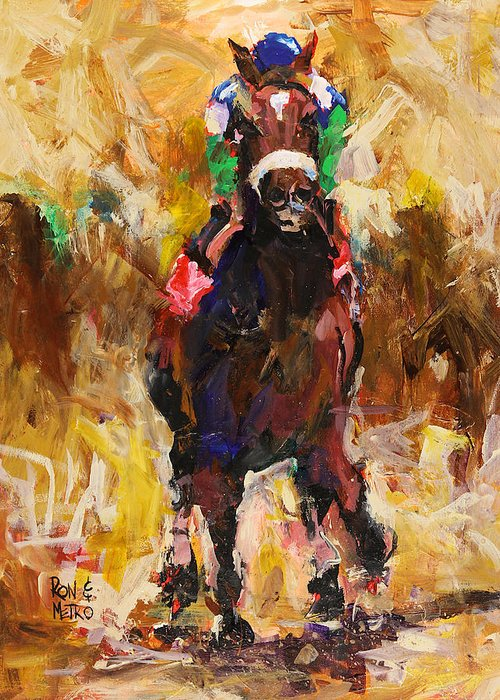 Kentucky Derby Greeting Cards