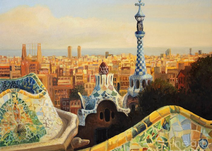 Barcelona Greeting Cards