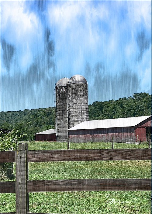 Barn Greeting Card featuring the photograph Barn 28 - Featured In Old Buildings And Ruins Group by Ericamaxine Price