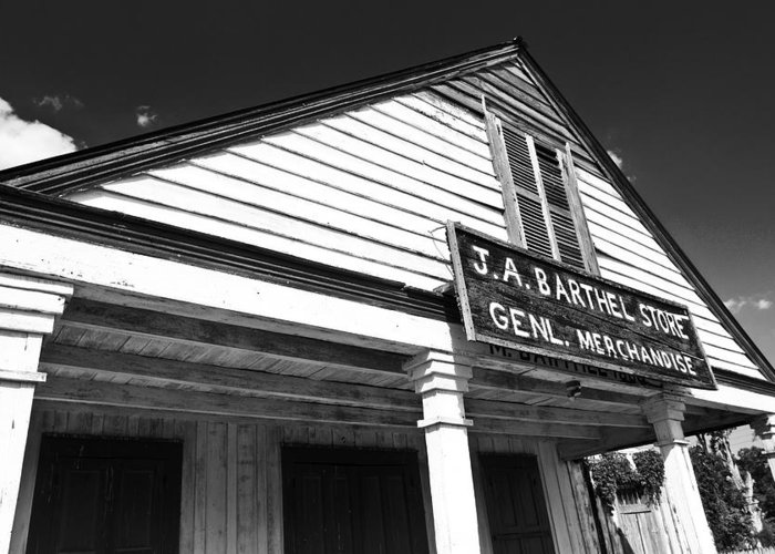 Store Greeting Card featuring the photograph Barthel Store by Scott Pellegrin
