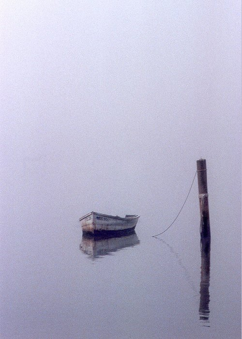 Boat Greeting Card featuring the photograph Bateau by Skip Willits
