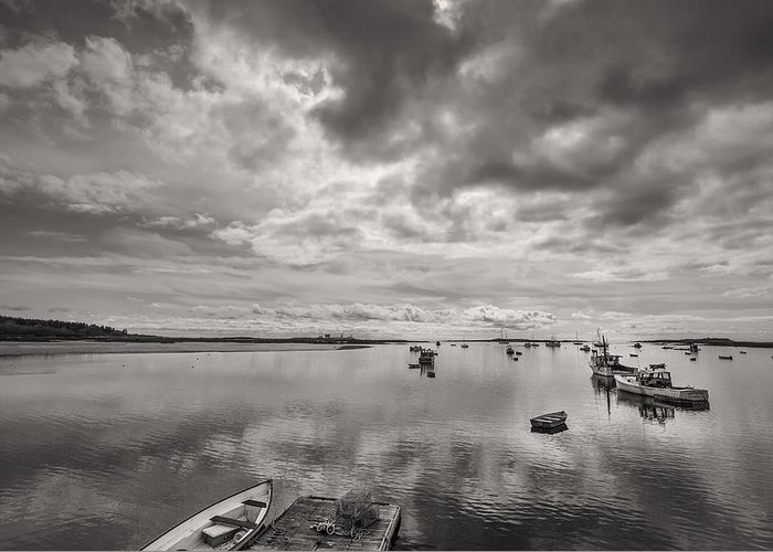 Horizontal Greeting Card featuring the photograph Bay Area Boats by Jon Glaser