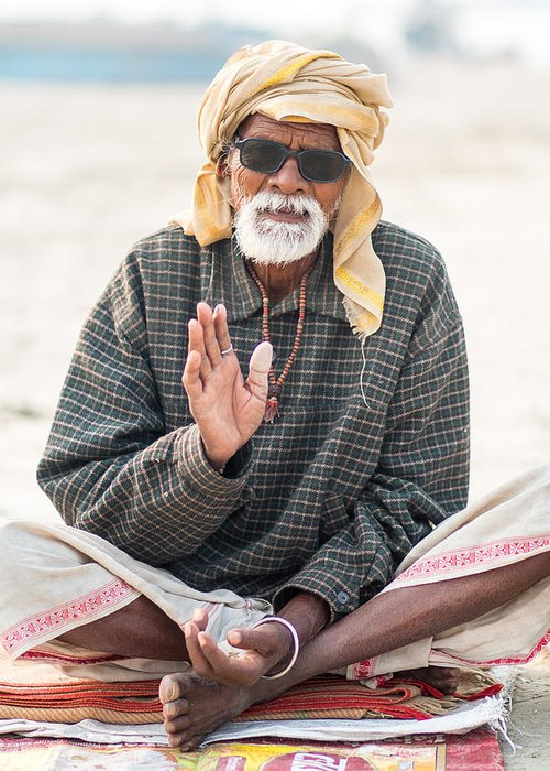 Allahabad Greeting Card featuring the photograph Be Cool by Gaurav Singh