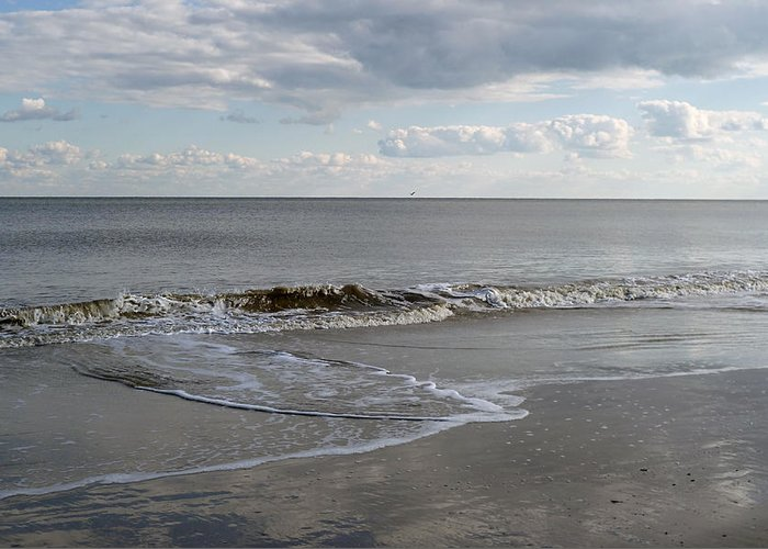 Sky Greeting Card featuring the photograph Beach @ Hilton Head Photo by Peter J Sucy