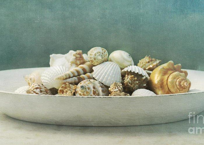 Maritim Greeting Card featuring the photograph Beach In A Bowl by Priska Wettstein