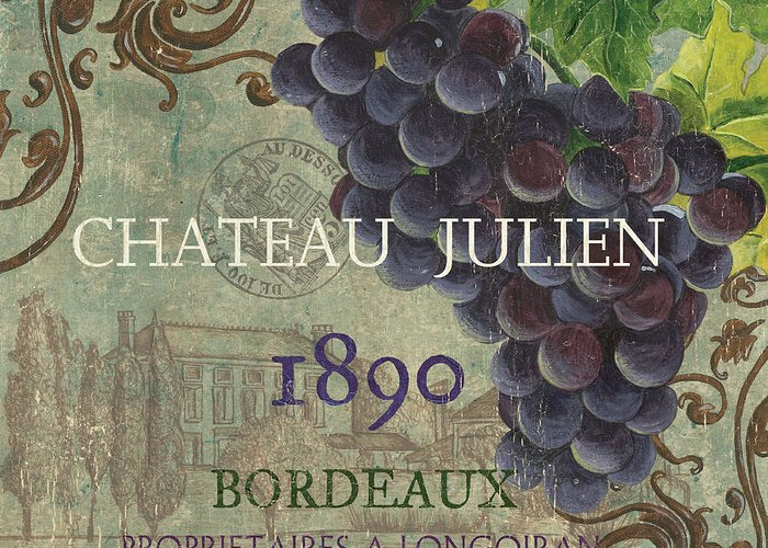 Wine Greeting Card featuring the painting Beaujolais Nouveau 2 by Debbie DeWitt