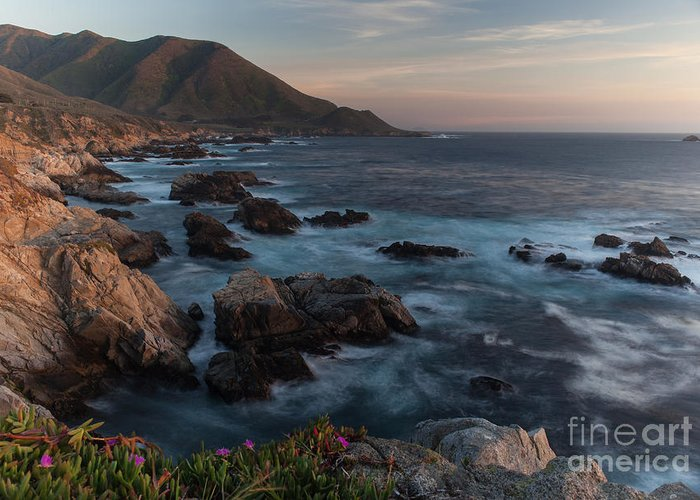 California Greeting Card featuring the photograph Beautiful California Coast In Spring by Mike Reid
