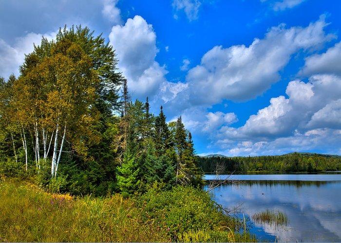 Lake Abanakee Greeting Card featuring the photograph Beautiful Lake Abanakee - Indian Lake New York by David Patterson