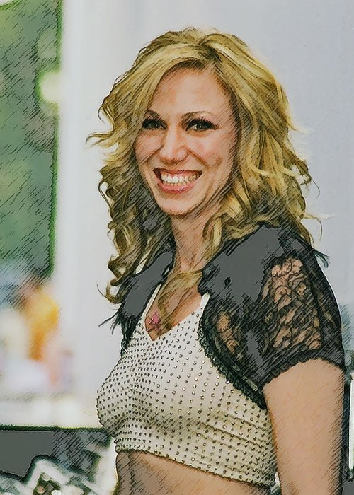 Debbie Gibson Greeting Card featuring the photograph Behind The Scenes by Brian Graybill