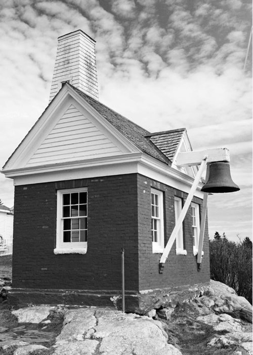 Bell Greeting Card featuring the photograph Bell House by Becca Brann