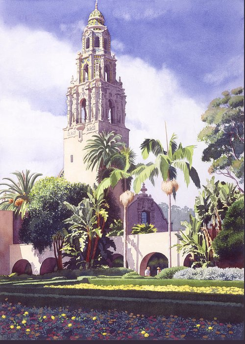 Balboa Park Greeting Cards