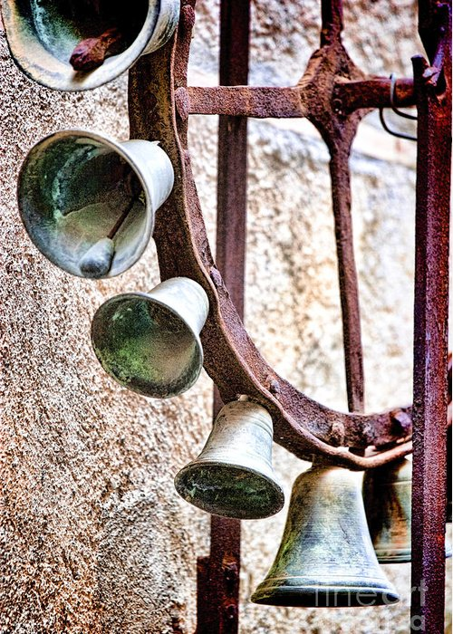 Sicily Greeting Card featuring the photograph Bells In Sicily by David Smith