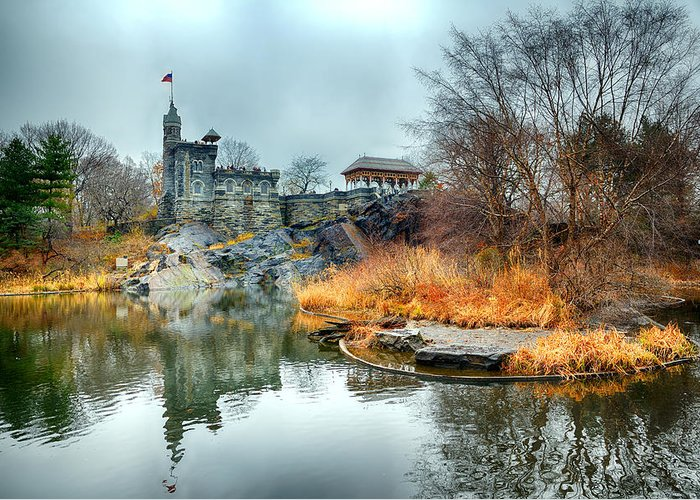 Nikon D600 Greeting Card featuring the photograph Belvedere Castle - Central Park by Joe Josephs