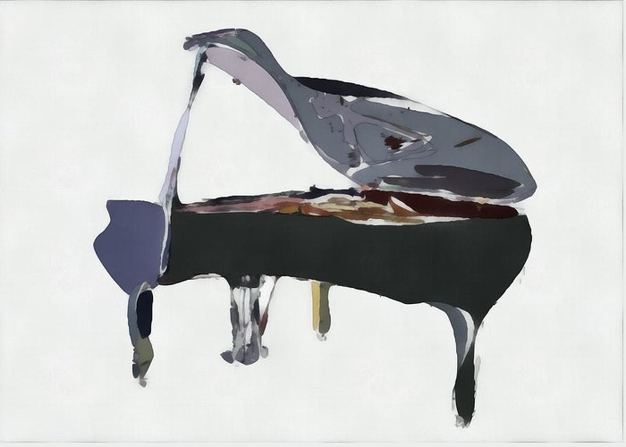 Grand Piano Greeting Cards