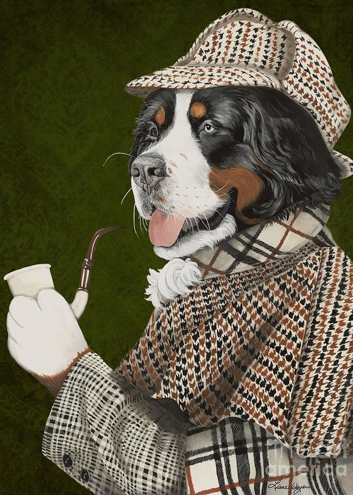 Hounds Tooth Greeting Cards