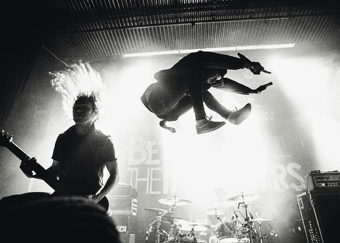 Metal Greeting Card featuring the photograph Betraying The Martyrs by Jesse K?m?r?inen