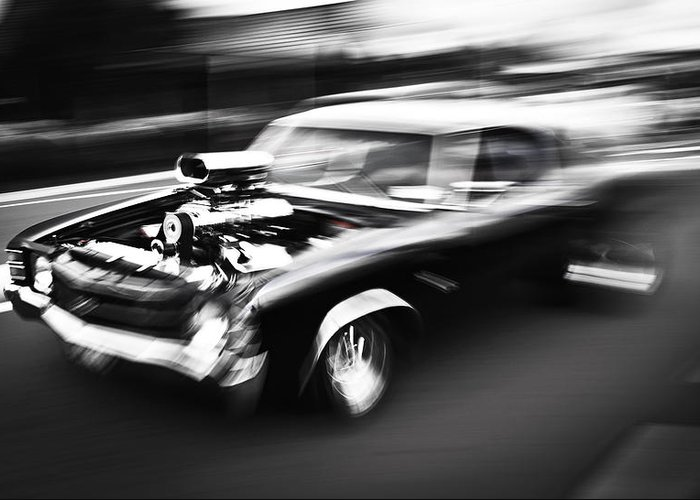 Chevrolet Chevelle Greeting Card featuring the photograph Big Block Chevelle by Phil 'motography' Clark