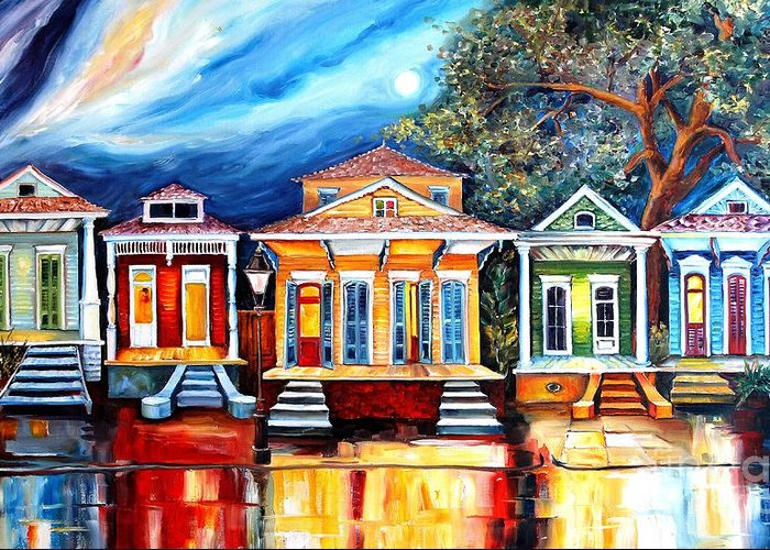 New Orleans Home Greeting Cards