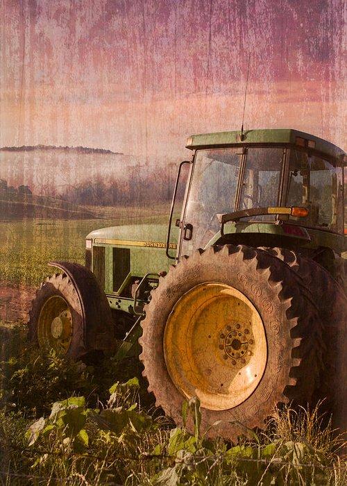 Appalachian Greeting Card featuring the photograph Big John by Debra and Dave Vanderlaan