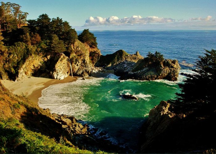 Big Sur Greeting Card featuring the photograph Big Sur by Benjamin Yeager