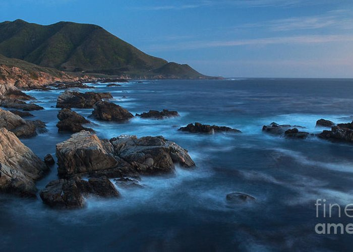 California Greeting Card featuring the photograph Big Sur Coastline by Mike Reid