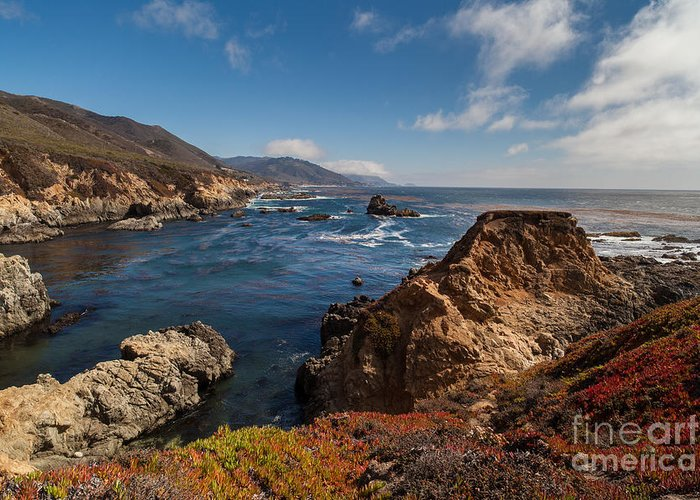 Soberanes Point Greeting Card featuring the photograph Big Sur Vista by Mike Reid