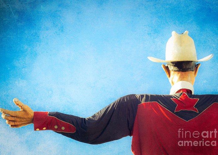Western Shirt Greeting Cards