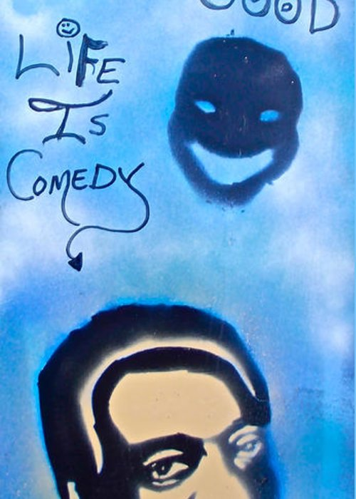 Hip Hop Greeting Card featuring the painting Bill Cosby by Tony B Conscious