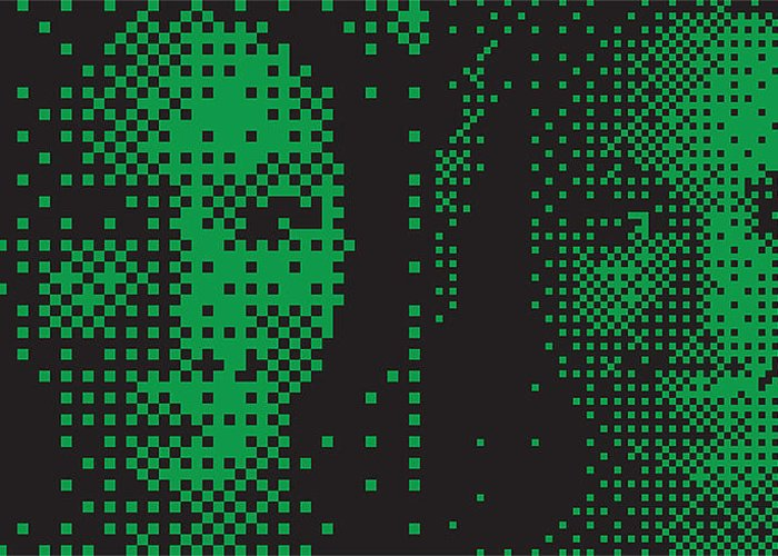 Pop Art Digital Art Greeting Card featuring the digital art Bk006 Tnm by Mark Van den dries