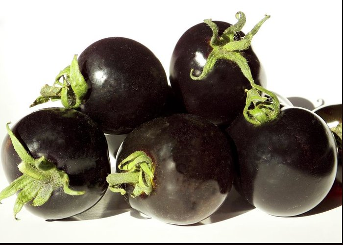 Solanum Lycopersicum Greeting Cards