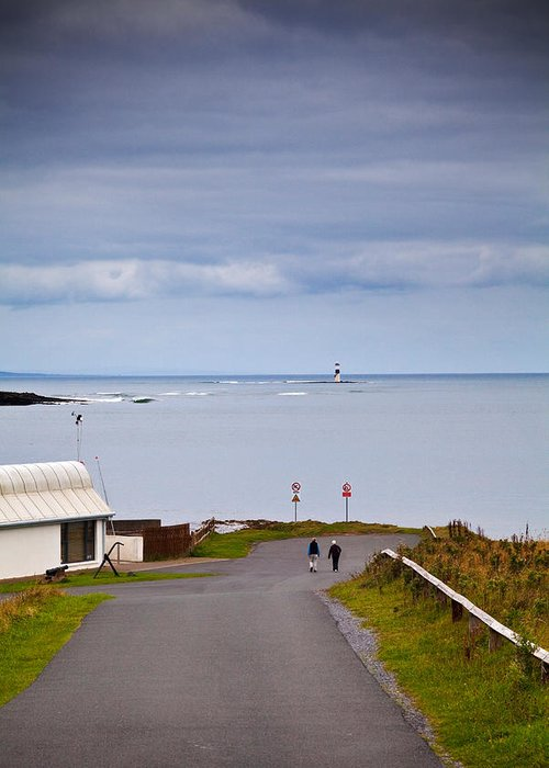 Photography Greeting Card featuring the photograph Blackrock Lighthouse, Off Rosses Point by Panoramic Images