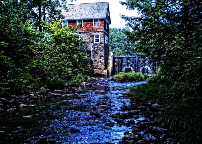 Mill Greeting Card featuring the photograph Blow Me Down Mill by Mike Martin