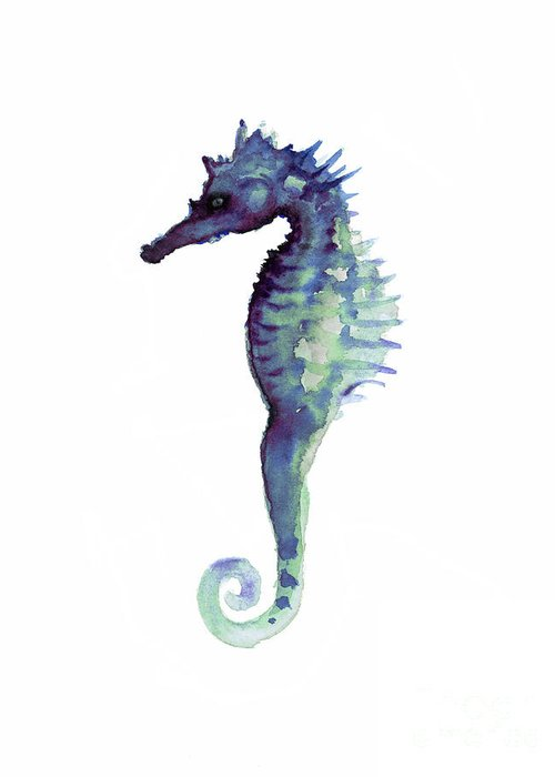 Seahorses Greeting Cards