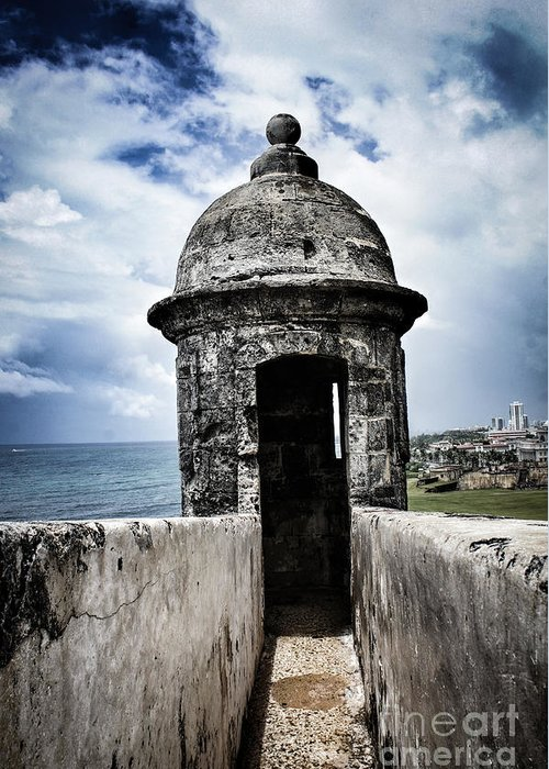 Puerto Rico Greeting Card featuring the photograph Blue Skies by Tami Martin