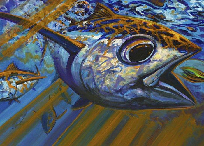 Tuna Paintings Greeting Cards