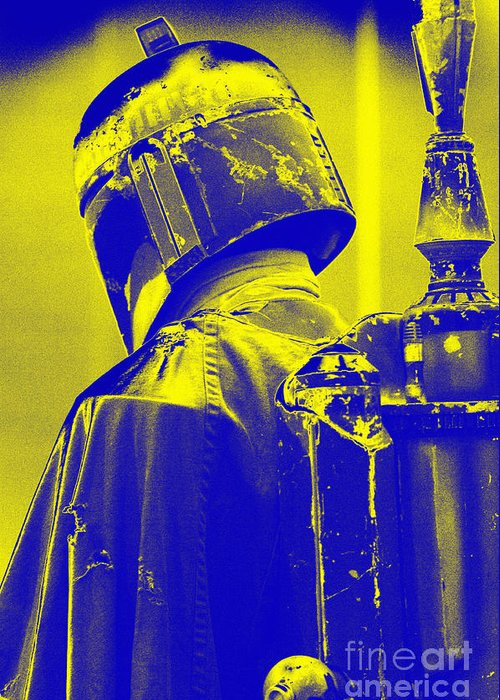 Boba Greeting Card featuring the photograph Boba Fett Costume 1 by Micah May