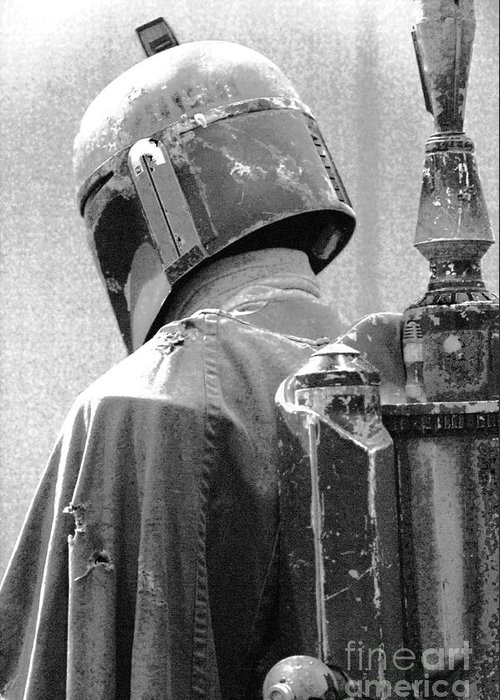 Boba Greeting Card featuring the photograph Boba Fett Costume 3 by Micah May