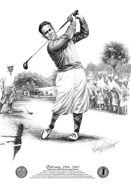 Us Open Drawings Greeting Cards