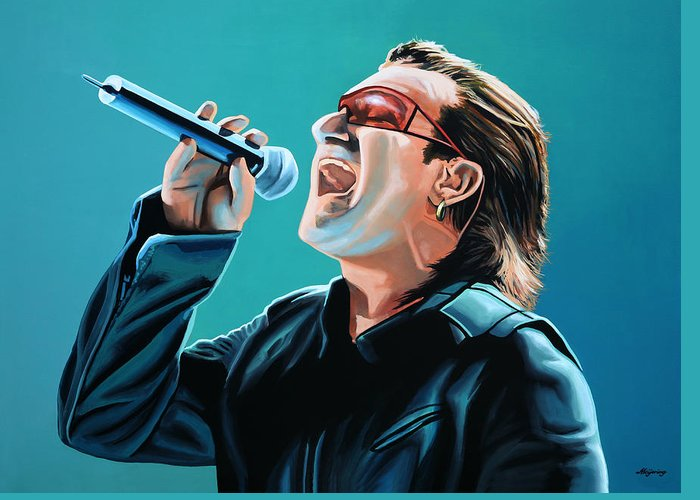 Bono Greeting Cards
