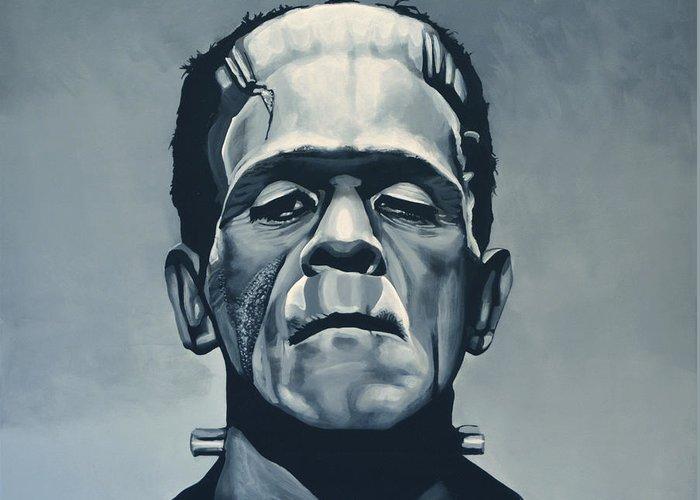 Frankenstein Greeting Cards